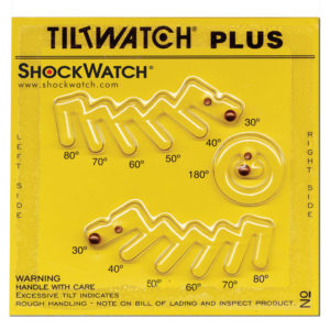 Indikátor překlopení TiltWatch plus