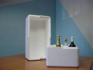 Polystyrenové termoboxy jako tepelná fixace